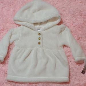 ☃️6m Carters fuzzy pullover